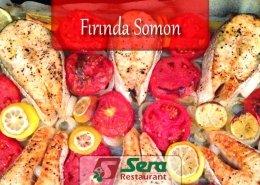 Fırında Somon