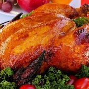 Fırın Yemekleri Fırında Nar Gibi Kızarmış Tavuk