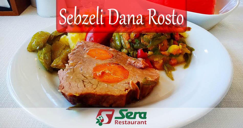 Sebzeli Dana Rosto