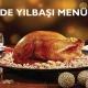 Sera Restaurant Evde Yılbaşı Menüsü